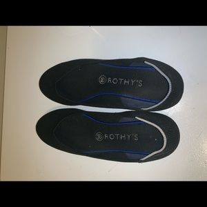 Rothy's Black flats